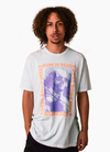 Surf is Dead x Bow3ry Total Body Melt Tee - White