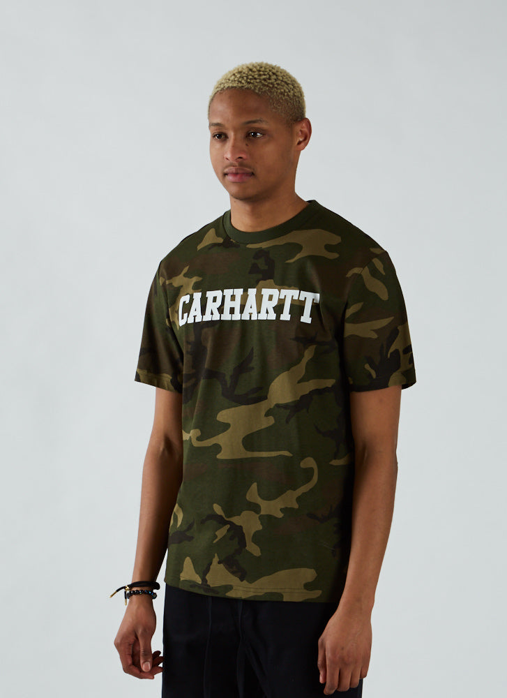 S/S College T-shirt - Camo