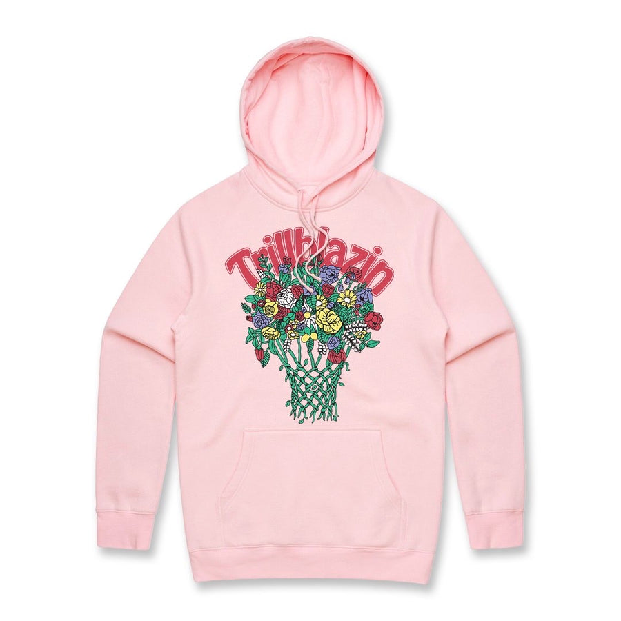 Bball Lover Hoodie - Light Pink