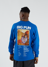 Pleasures x Big Pun Stats T-shirt L/S - Royal