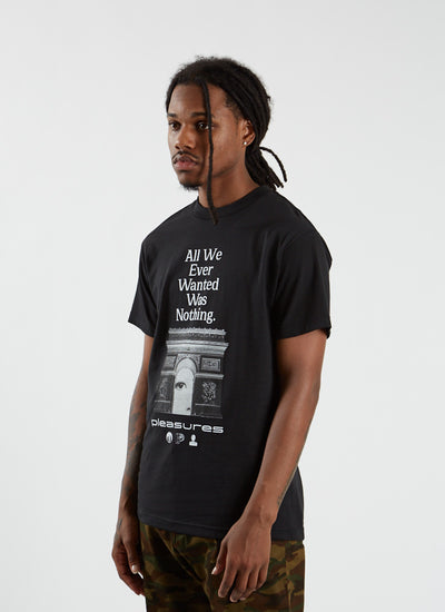 Nothing T-shirt - Black