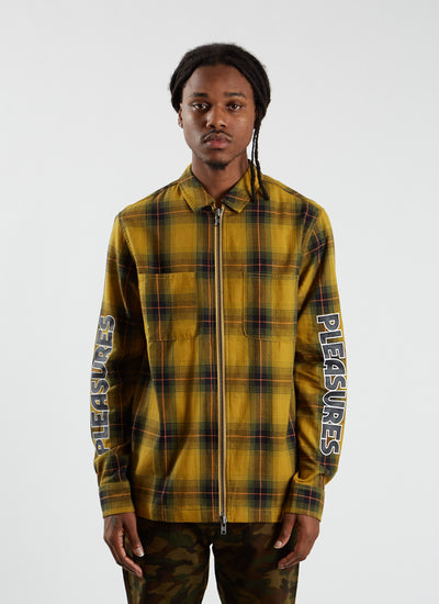 Vernon Zip Jacket - Yellow