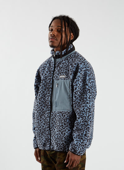 Wild Sherpa Jacket - Blue