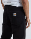 Penrod Pant  - Black Rinsed