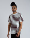 S/S Oakland T-shirt  - Kent Stripe / Wax