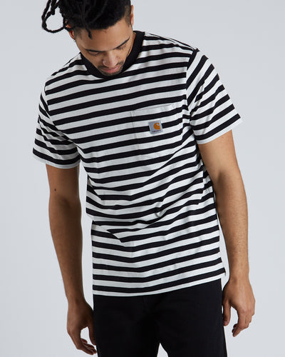 S/S Scotty Pocket T-shirt  - Black
