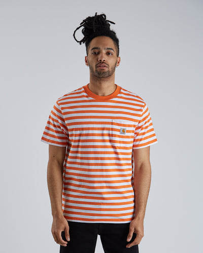 S/S Scotty Pocket T-shirt  - Clockwork