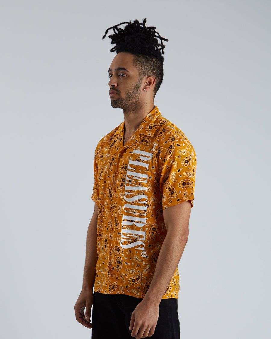 Andy Rayon Button Down - Yellow