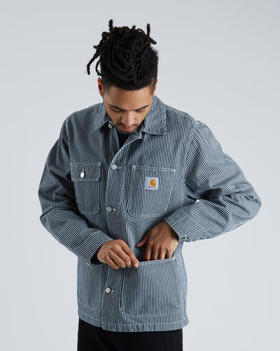 Michigan Chore Coat - Hickory Denim