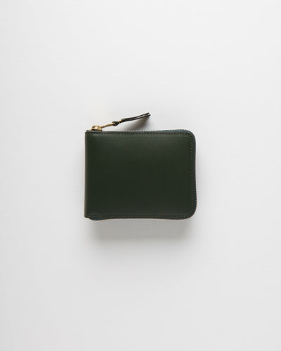 Classic Leather Line Wallet - Bottle Green (SA7100)