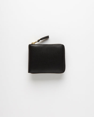 Classic Leather Line Wallet - Black (SA7100)