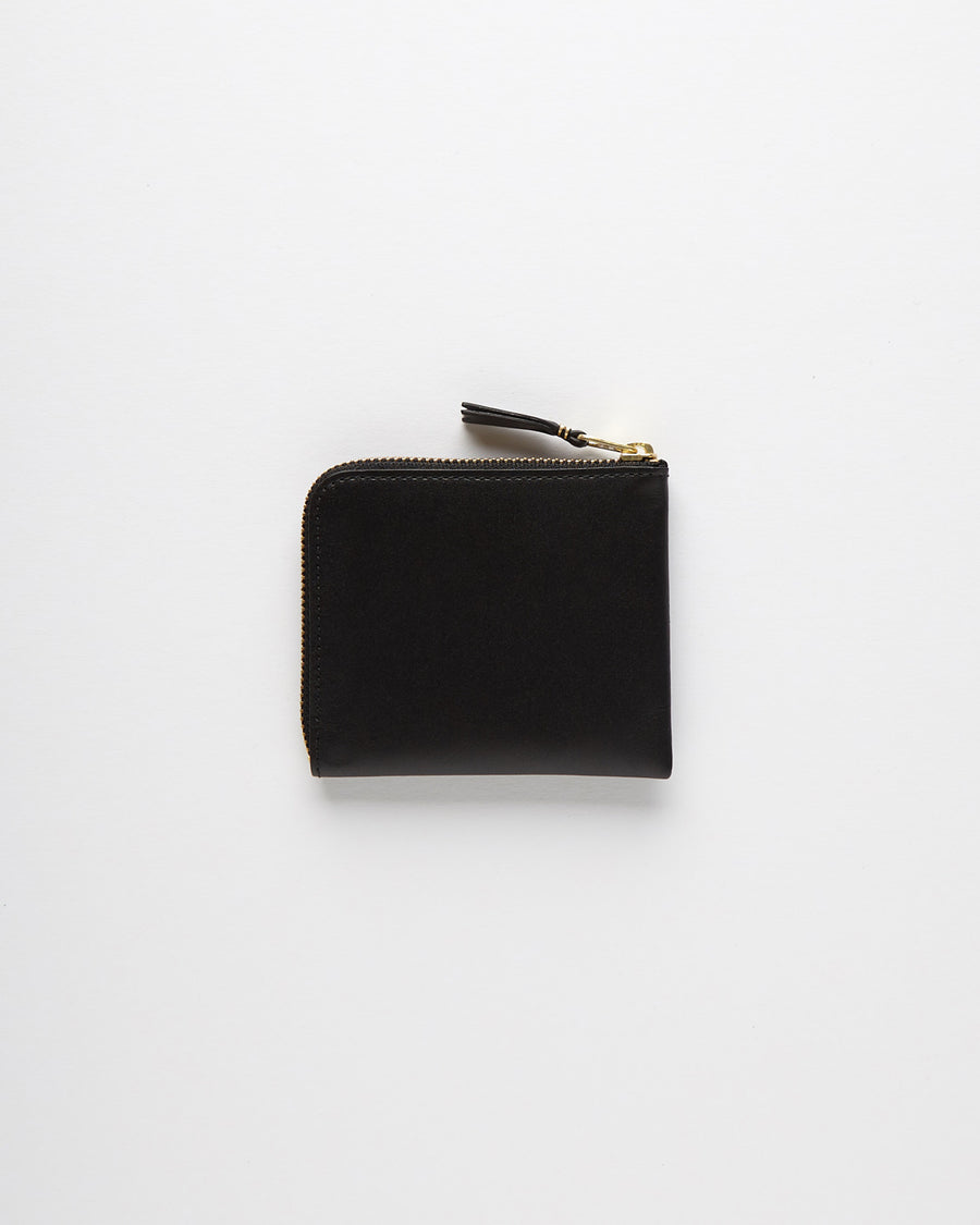 Classic Leather Line Wallet - Black (SA3100)