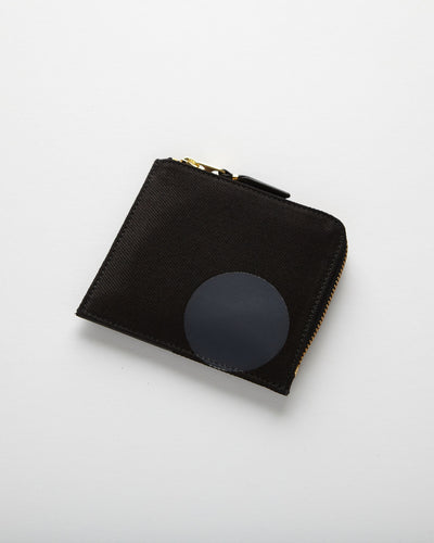 Rubber Dot Wallet - Black (SA3100RD)