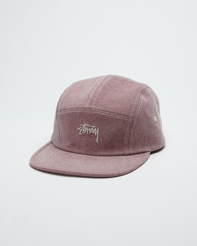 Stock Washed Canvas Cap - Rose
