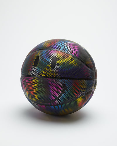 Smiley Rainbow Reflective B-Ball