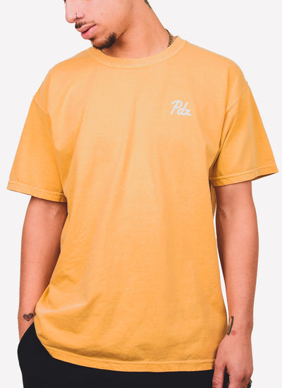 PDX Dyed Tee - Sunflower