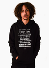 Titles Hoody - Black