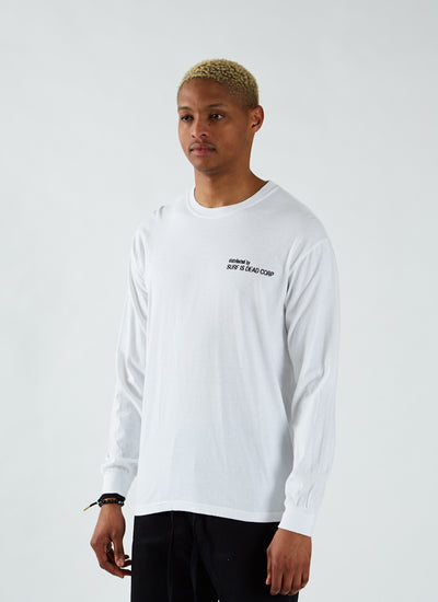 Up Down Long Sleeve T-shirt - Ivory