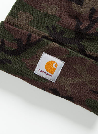 Camo Evergreen Beanie - Evergreen Camo