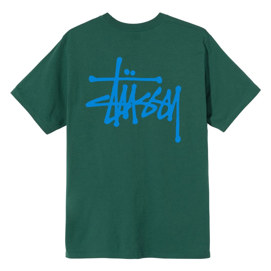 Basic Stussy Tee - Dark Green