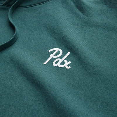 PDX Dyed Champion Hoodie - Alpine