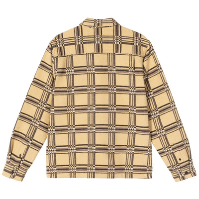 Langley Plaid LS Shirt - Yellow