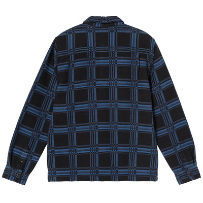 Langley Plaid LS Shirt - Navy