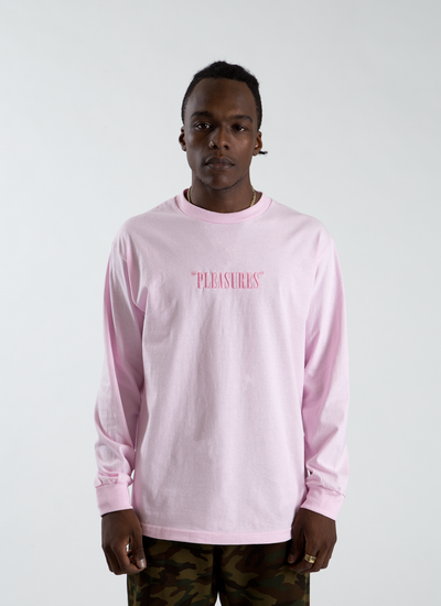 Core Logo Embroidered Longsleeve T-shirt - Pink