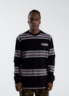 Spirit Stripe Longsleeve - Black
