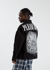Web Denim Jacket - Black