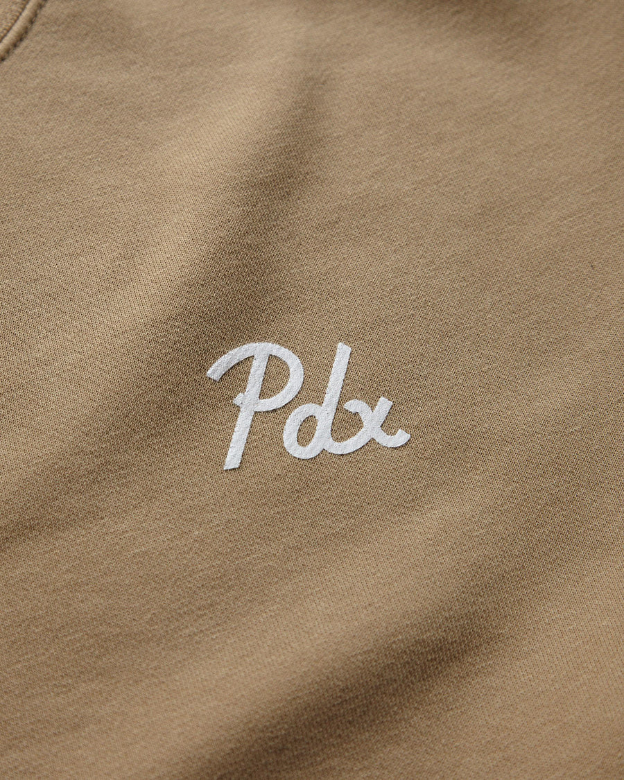 PDX Dyed Crewneck - Sand