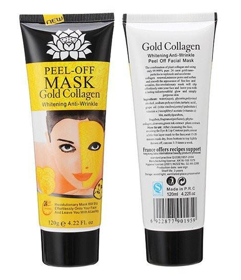 24k Gold Collagen Face Lifting Mask