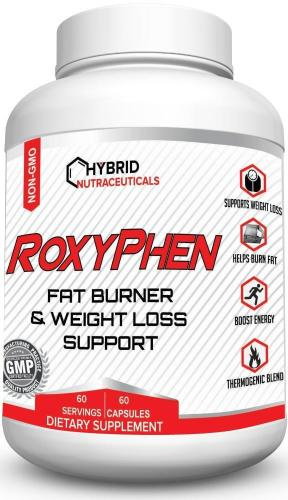 RoxyPhen™ Thermogenic Fat Burner + Energy Booster (60-Day Supply)