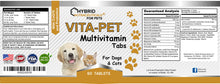 Vita-Pet Multivitamin Tabs Dogs & Cats