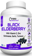 Black Elderberry Capsules - Immune Support