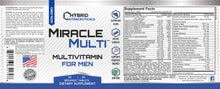 multivitamin for men, ingredients