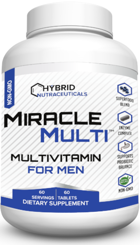MiracleMulti for Men Performance Blend Multivitamin