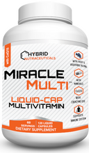 [71+ MiracleMulti™ Performance Blend] Introducing our NEW LIQUID-CAP Multivitamin for Men & Women | Liquid-Cap Vitamin Mineral Supplement with CoQ10 Superfood Enzyme Blend for Optimized Heart, Stamina, Energy - 60 Day Supply