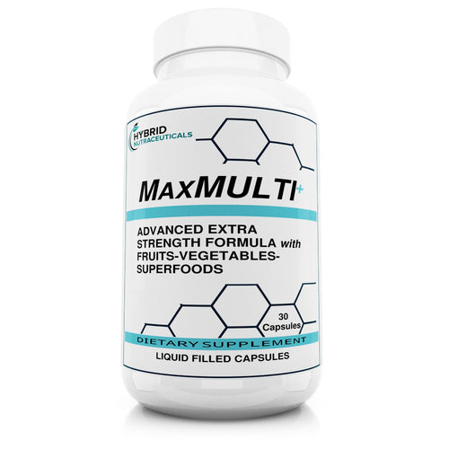 MaxMulti™ Liquid Capsule Multivitamin & Minerals, with Herbal/Superfood Blend