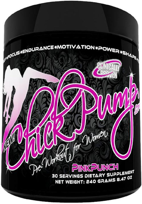 Chick Pump™ Pre Workout for Women! 4 FLAVORS!