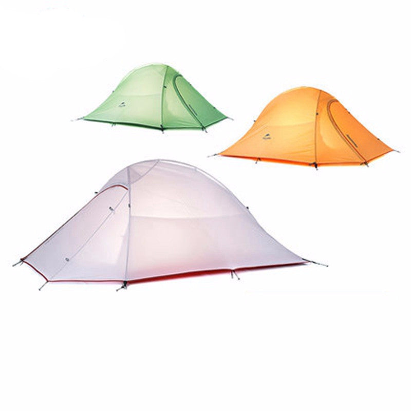 Naturehike Silicone Fabric Ultralight 2 Person Tent With 2 Person Mat - Mountainlion