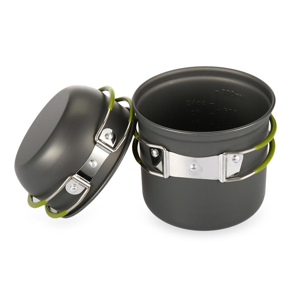 Backpacking Pot & Pan Set - Mountainlion
