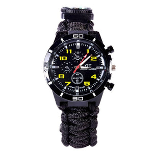 Outdoor 5in1 Survival Watch - Mountainlion
