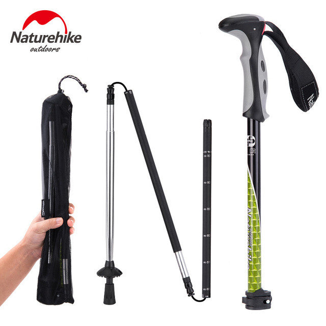 Carbon Steel Trekking Pole - Mountainlion