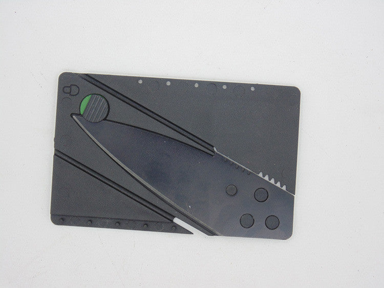 Folding Credit Card Knife - Mountainlion