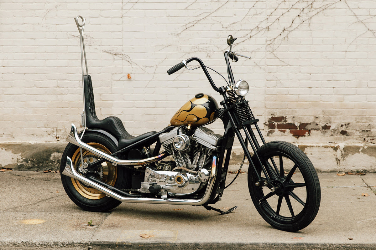 Black & Gold Chopper