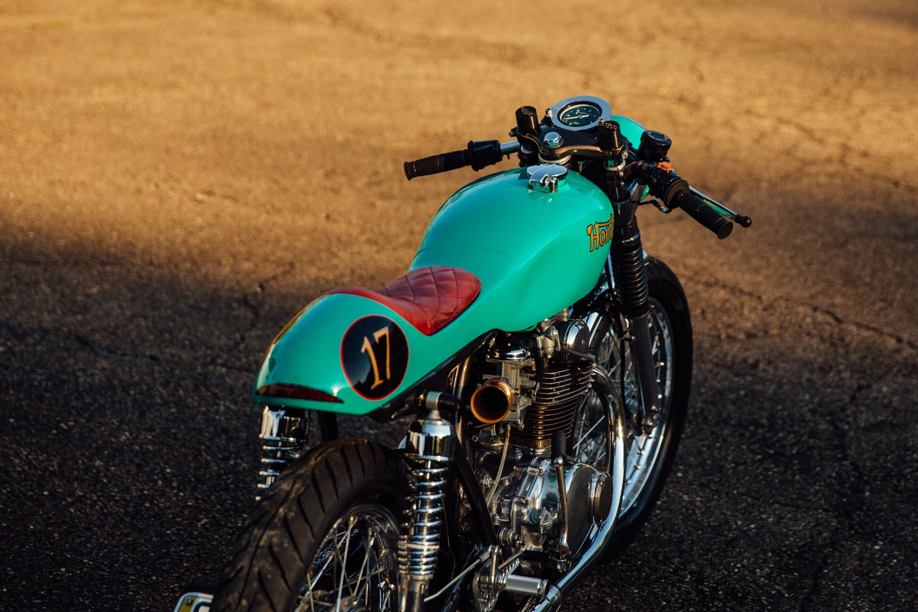 Honda CB350 Cafe Racer Custom Motorcycle Pittsburgh