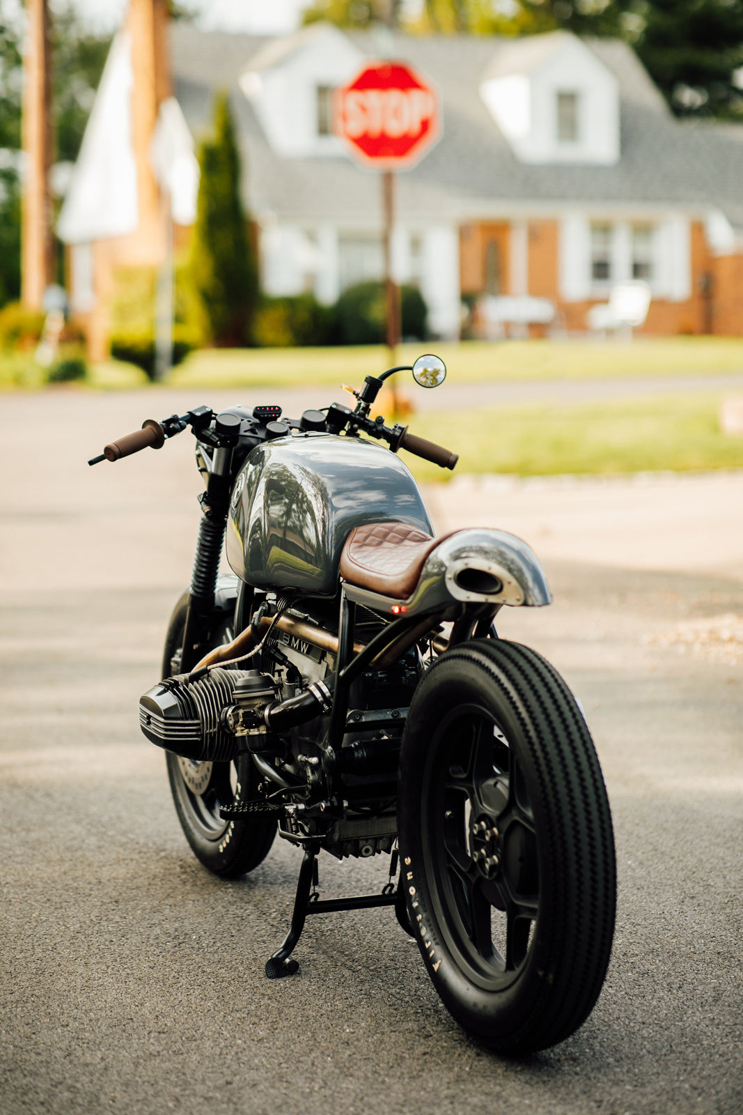 BMW R100 Cafe Racer Custom Motorcycle Pittsburgh