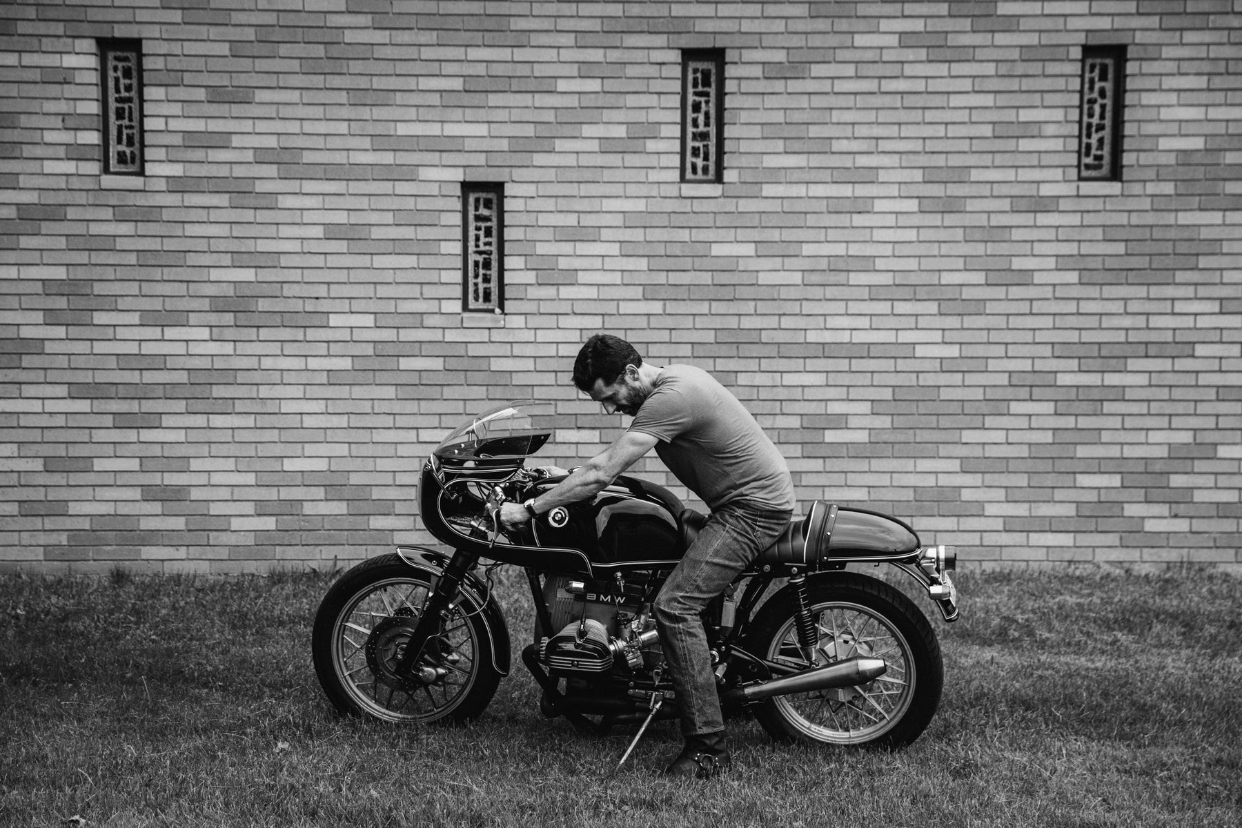 BMW R80 Cafe Racer Custom Classic Motorcycle Pittsburgh