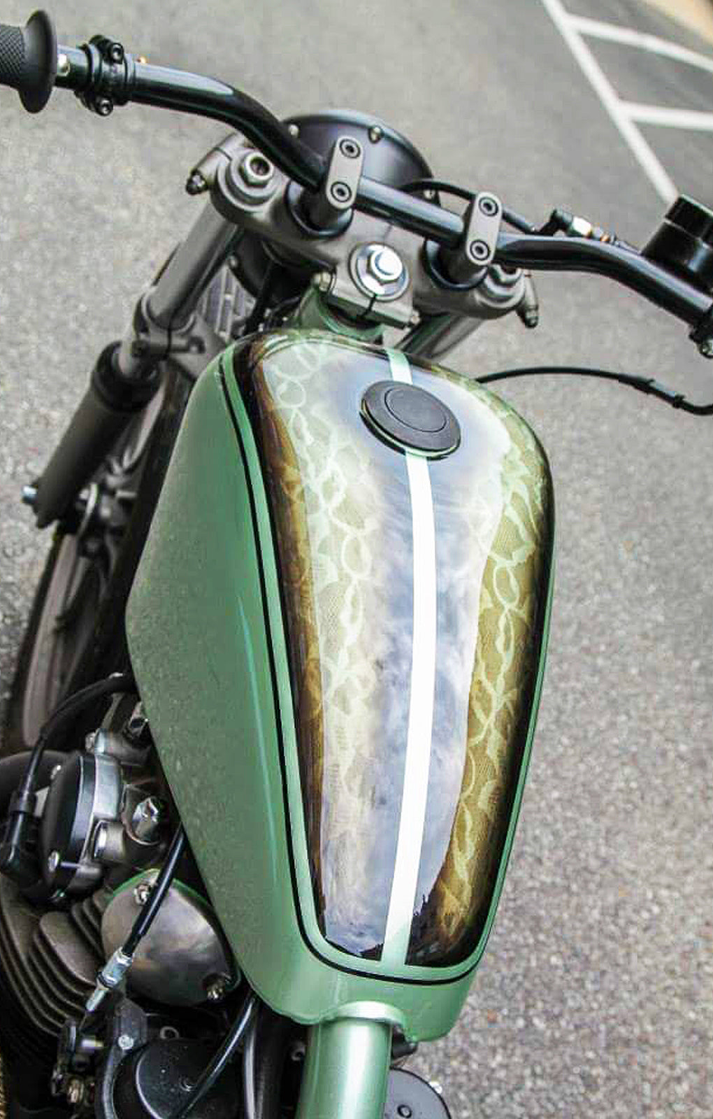 Bridge City Custom Paint Shop Motorcycles Choppers Pittsburgh